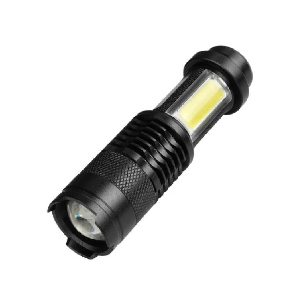 Mini LED Žibintuvėlis 5W 2000LM Pakraunamas,Reguliuojamas Spindulys