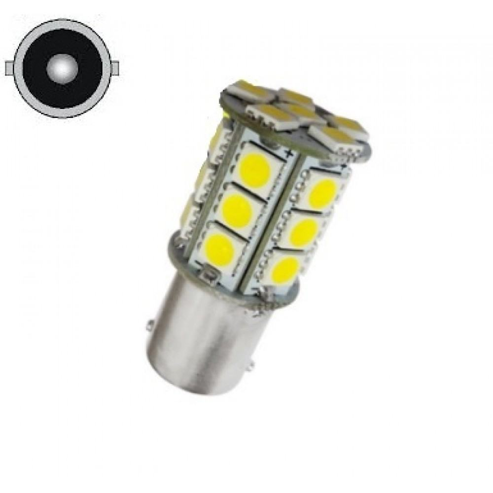 LED Lemputė P21W- BA15S , 24 - LED
