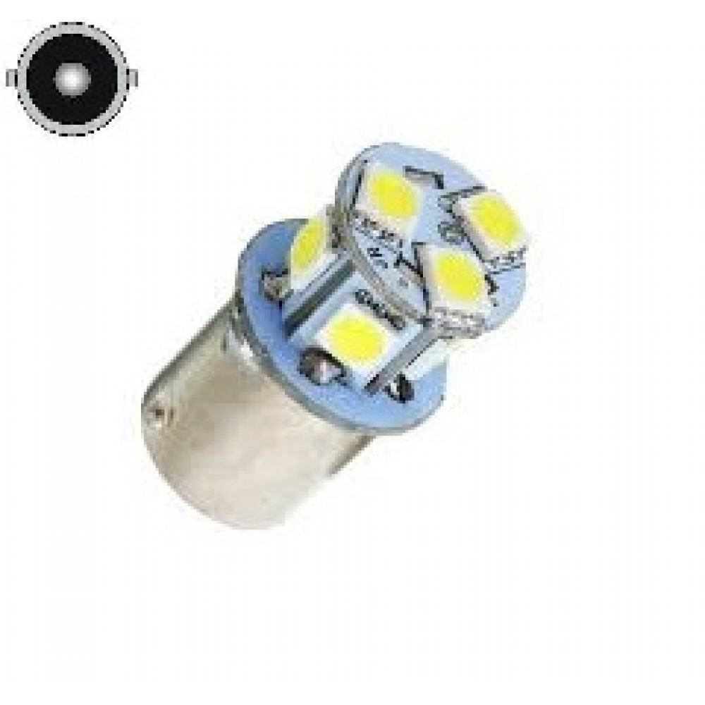 LED Lemputė P21W- BA15S , 8 - LED