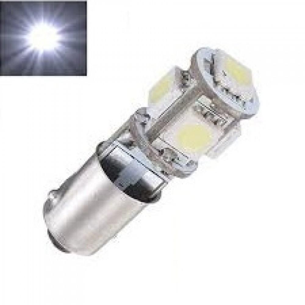 LED Lemputė BA9S/ T4W 5 - LED