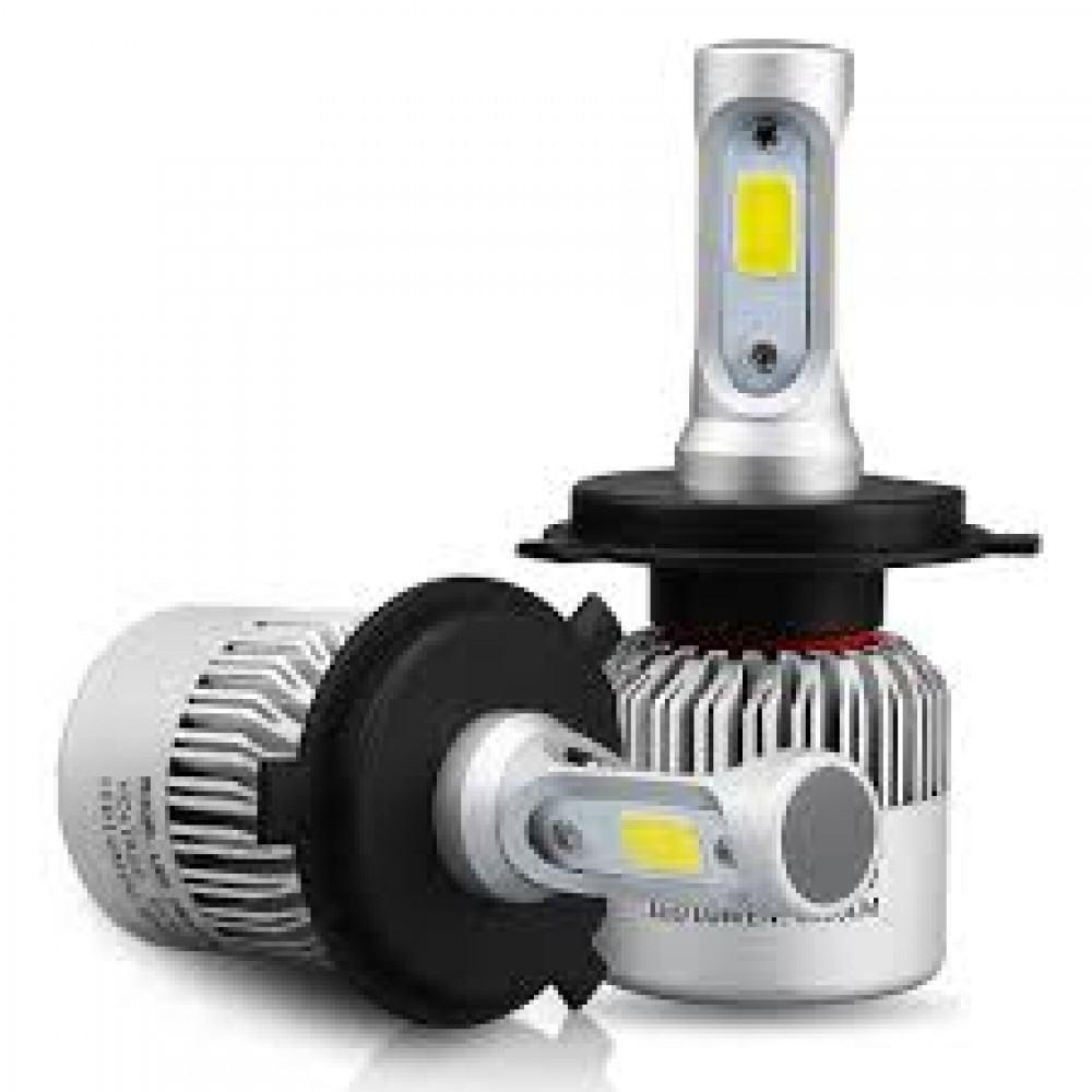 H3 COB LED lemputės 12-24V, 36W priekiniams žibintams