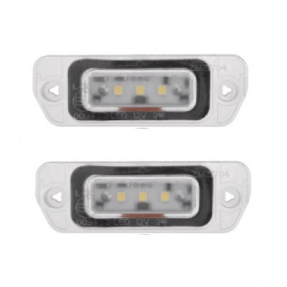 Mercedes ML W164 / R-Class W251 LED numerio apšvietimo lemputės