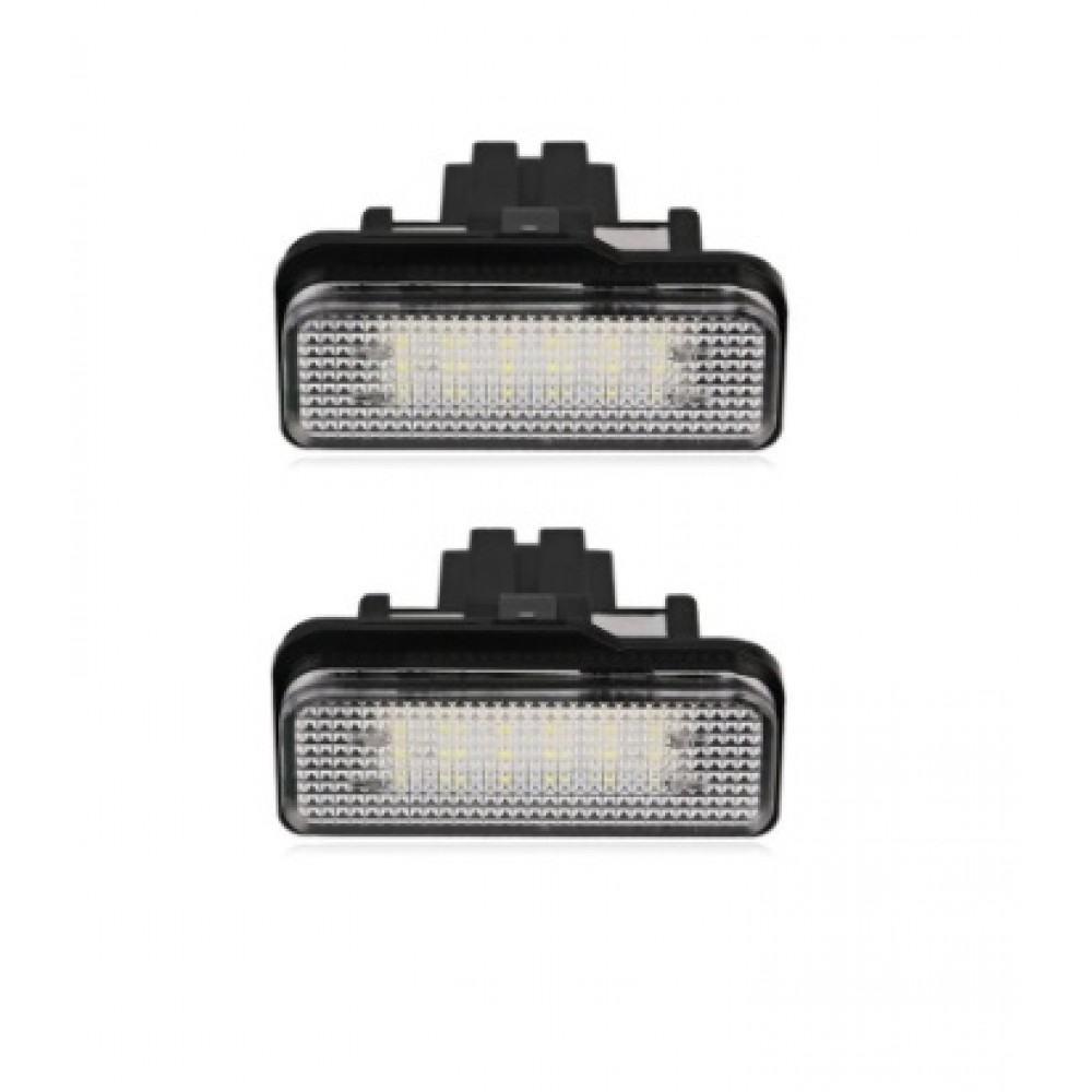 Mercedes W203 Universal/W211/W211 Universal/W219/R171 LED numerio apšvietimo lemputės