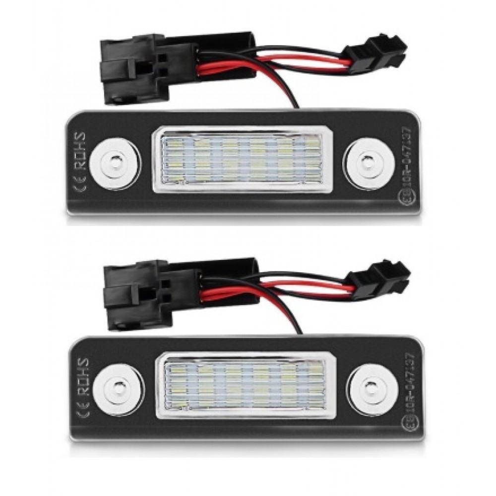 SKODA LED numerio apšvietimo lemputės