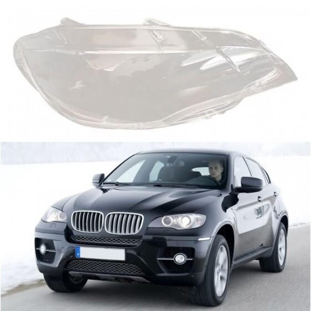 BMW X5 E71 - Dešinės pusės žibinto stiklas
